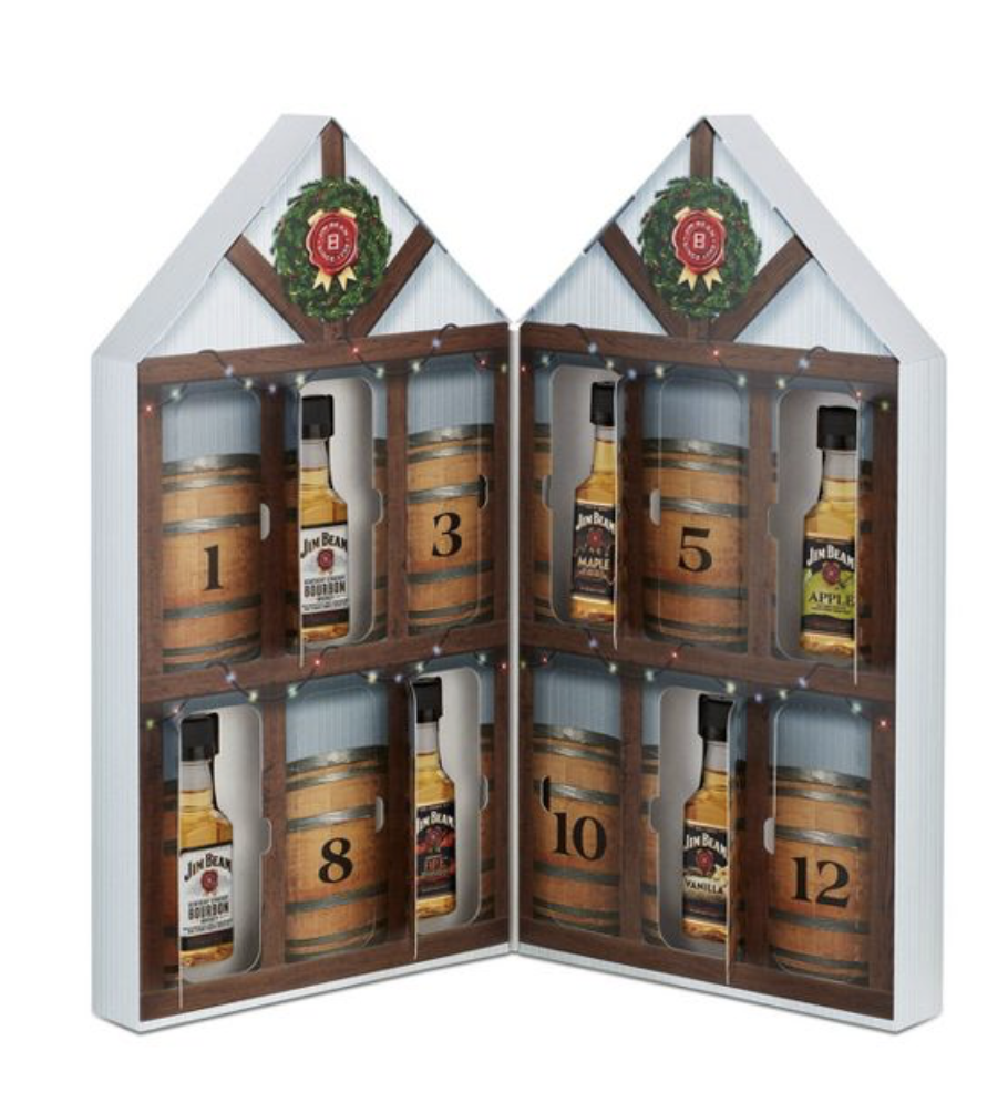 Jim Beam Assorted Bourbon Whiskey Advent Calendar