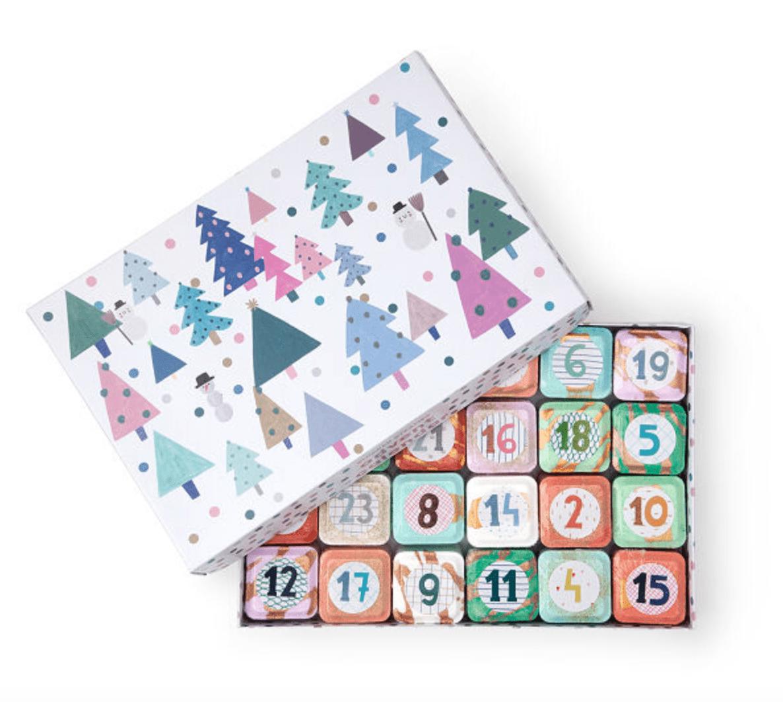 Mazzi and Erez Peled Advent Calendar Shower Steamer Set