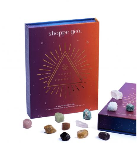 Shoppe Geo 12-Day Advent Calendar Cosmic Crystal Kit