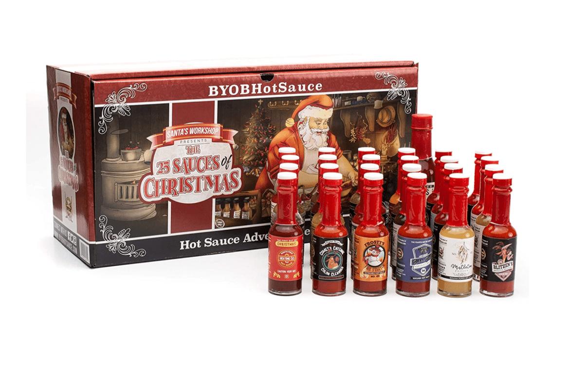 Hot Sauce Advent Calendar