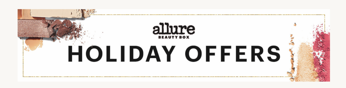 Allure Beauty Box Holiday Deals – Free Holiday Bundles with Subscriptions!