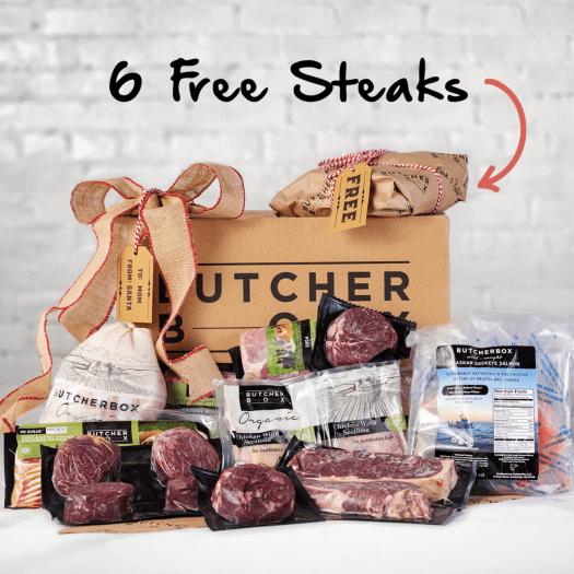 Butcher Box Cyber Monday Deal – Get 6 FREE Steaks!