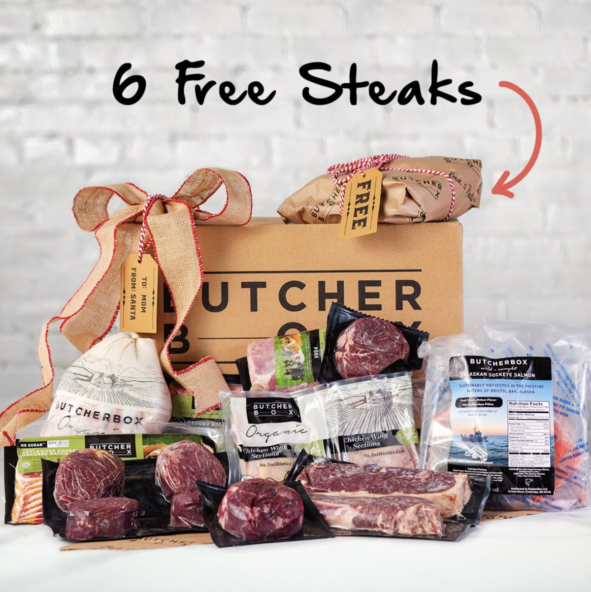 Butcher Box Cyber Monday Deal – Get 6 FREE Steaks!