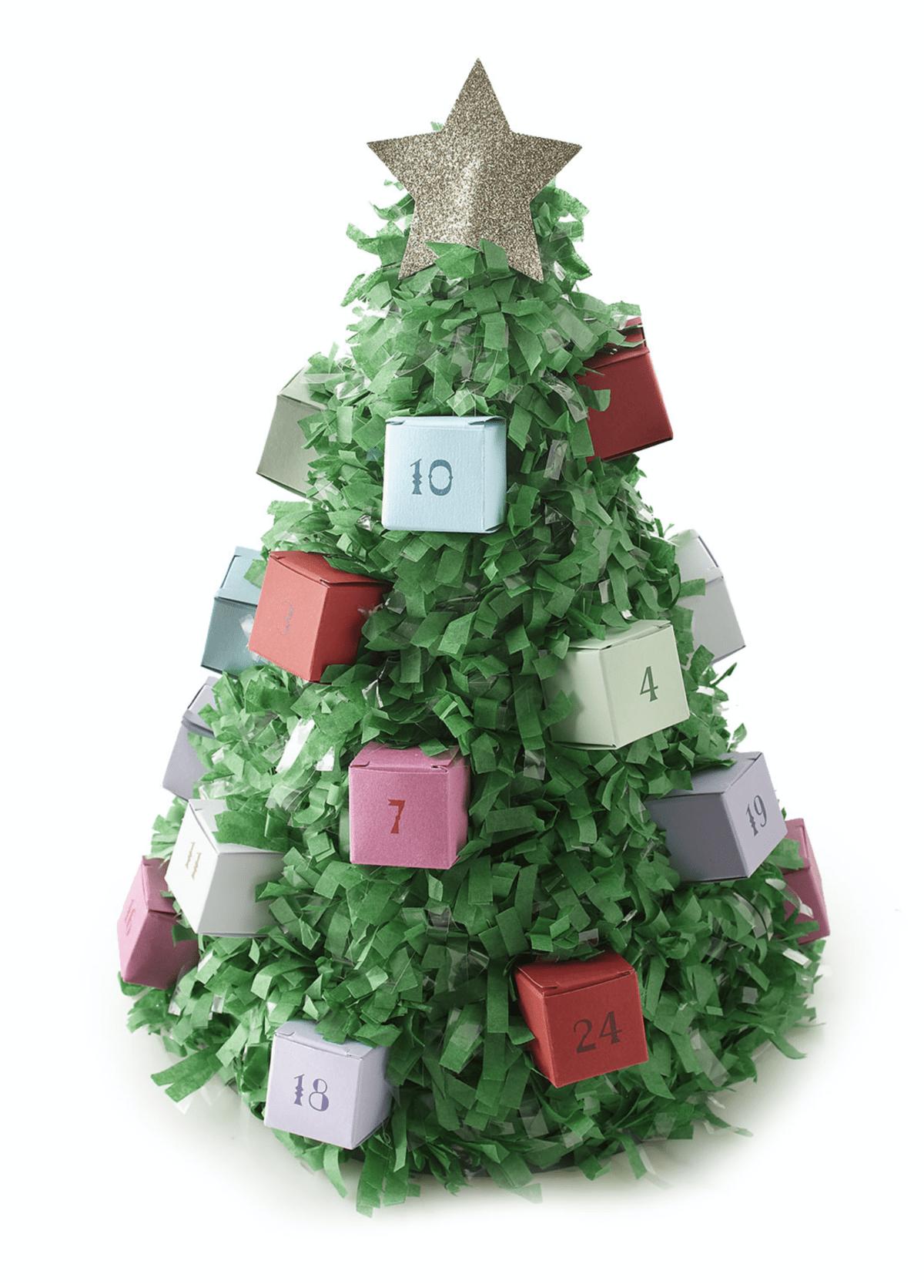 TOPS Malibu Inc. Merry Artisan Advent Tree – On Sale Now