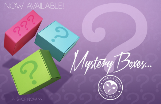 Hank & Henry Mystery Boxes – On Sale Now