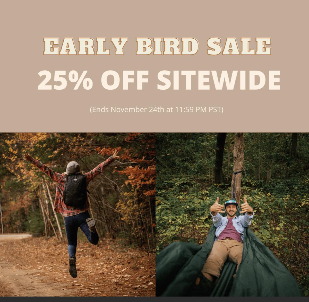 Nomadik Early Black Friday Sale – Save 25%