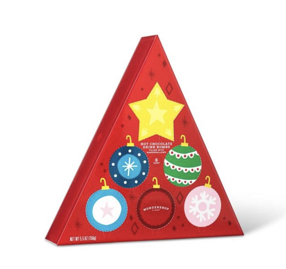 Holiday Advent Triangle Hot Chocolate Drink Bomb – On Sale Now