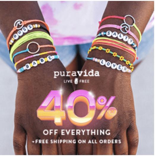 Pura Vida Black Friday Sale – Save 40%!