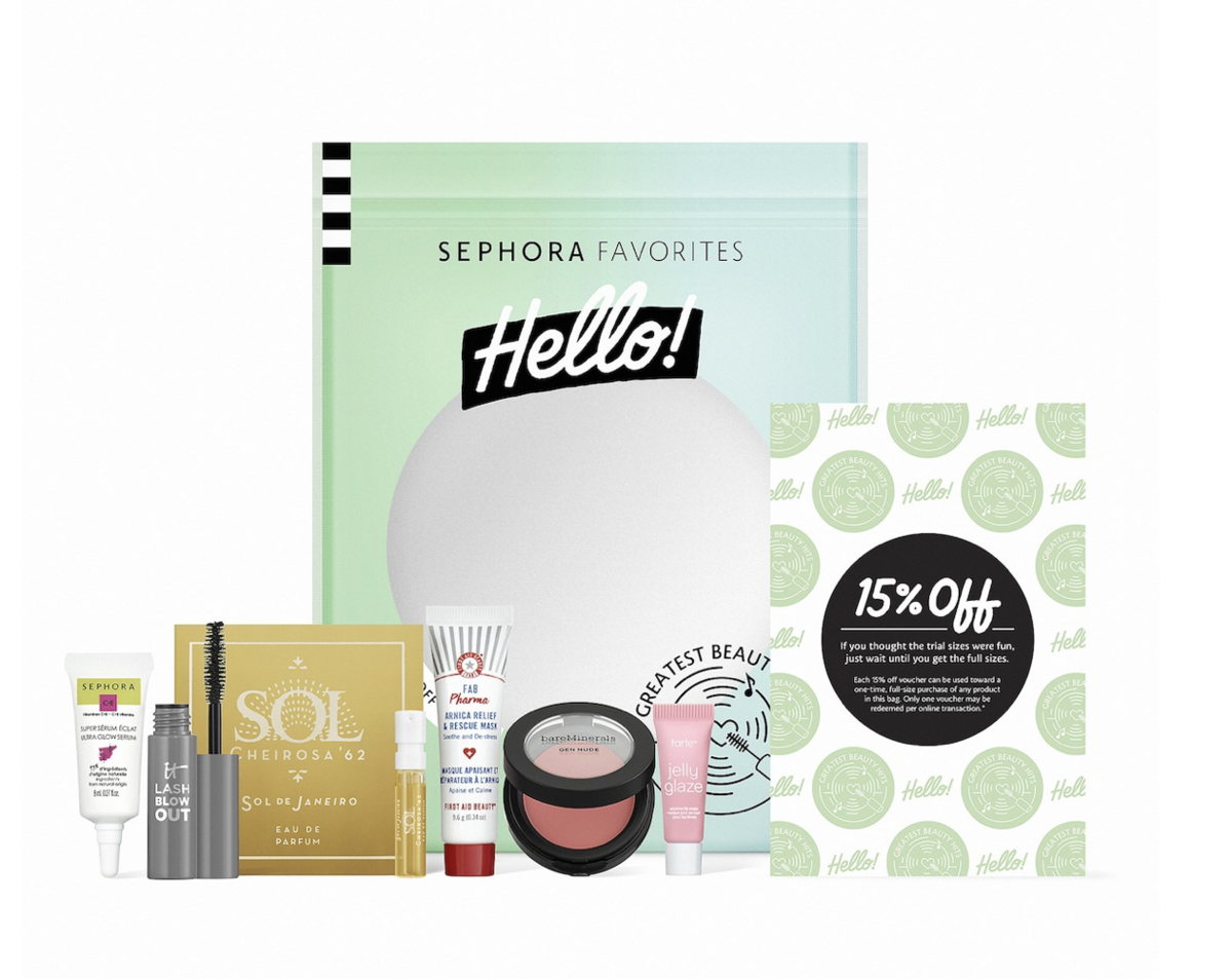 SEPHORA Favorites – Sephora Favorites Hello! Greatest Beauty Hits – On Sale Now!