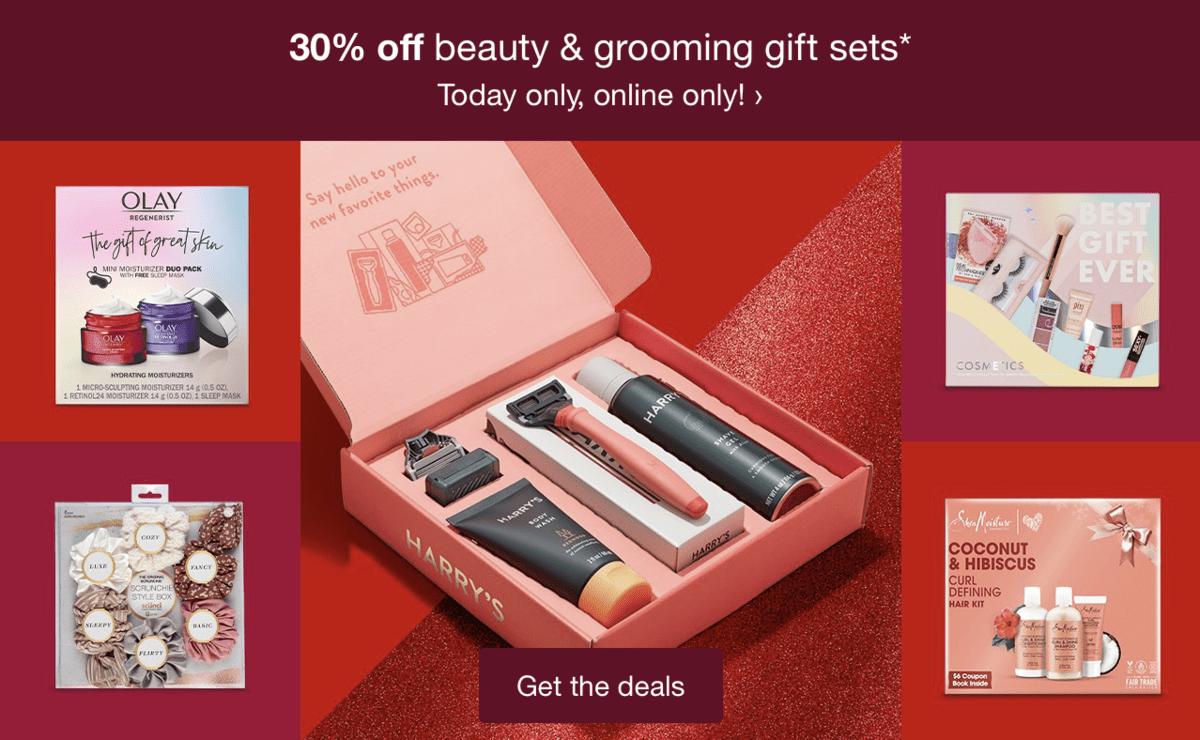 Target Beauty Box Sets & Advent Calendar – Now 30% Off!