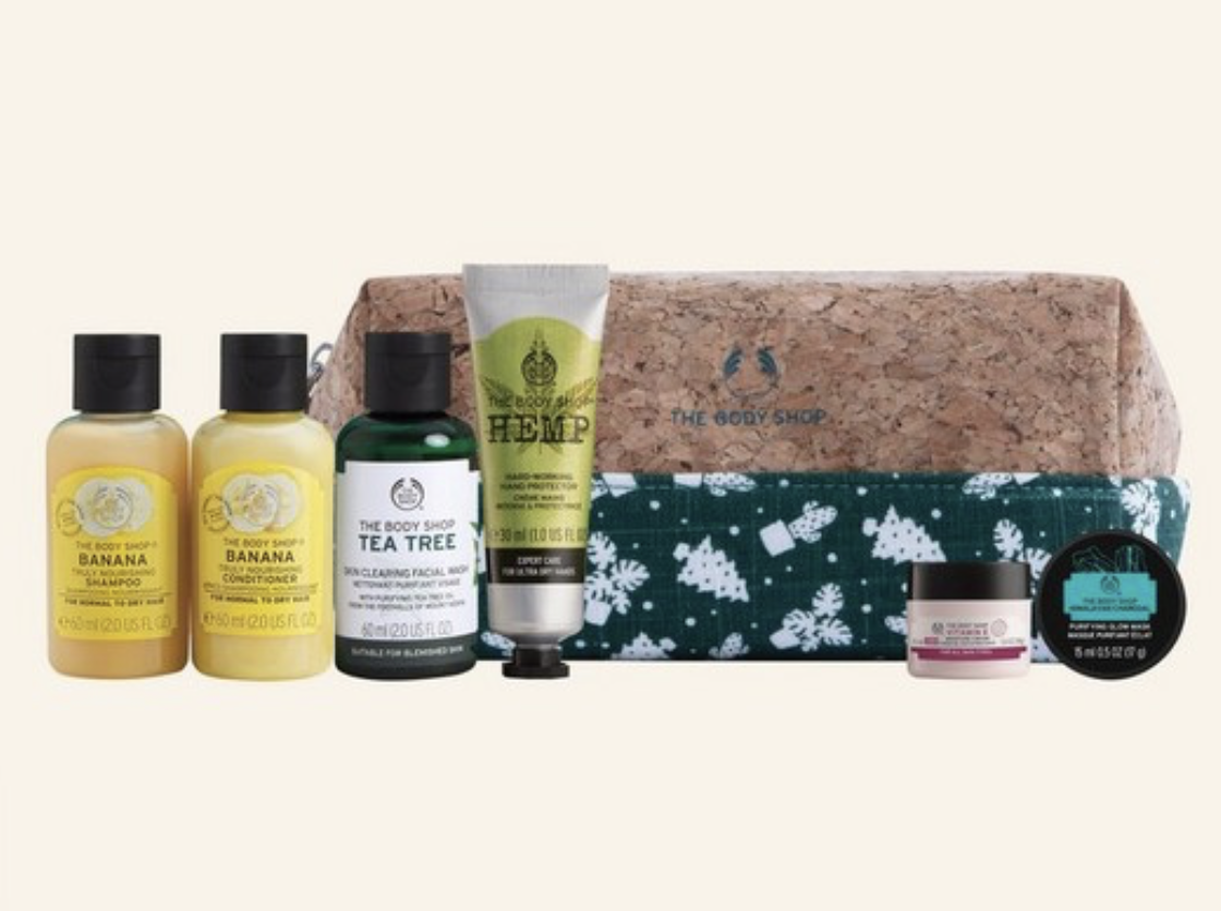 The Body Shop 2020 Pouch + 30% Black Friday Sale!