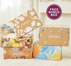 FabFitFun Cyber Monday Sale - Free Bonus Box!