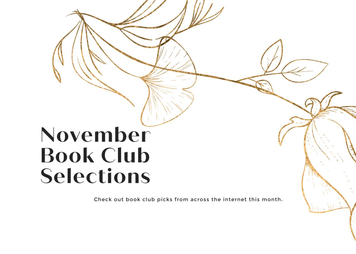 November 2020 Book Club Selections