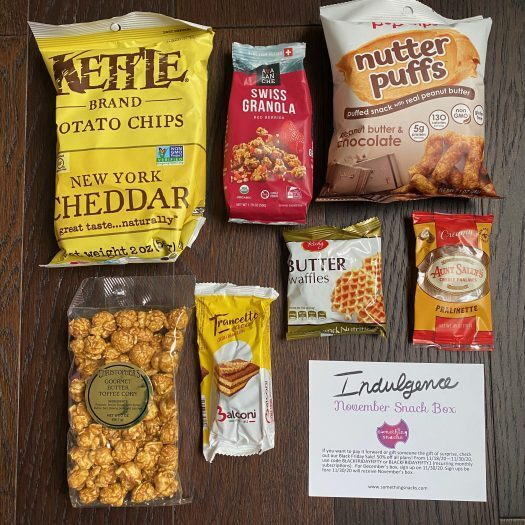 Something Snacks Review - November 2020