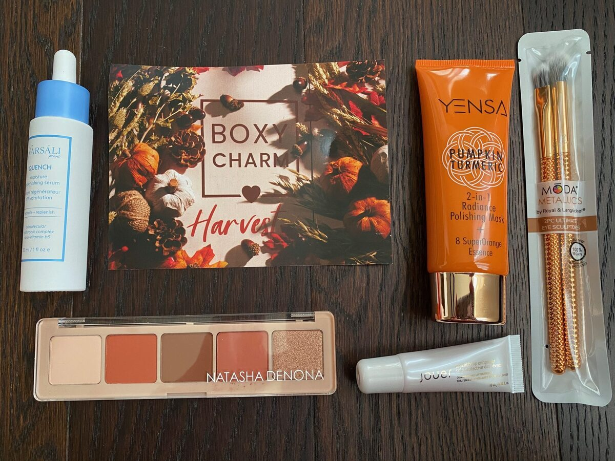 BOXYCHARM Subscription Review – November 2020 + Free Gift Coupon Code