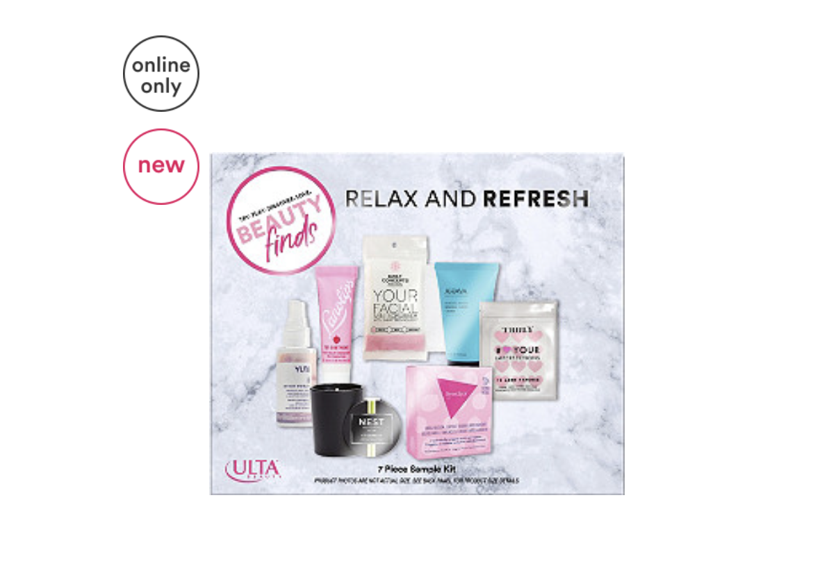 ULTA Relax & Refresh Sampler Kit – On Sale Now!