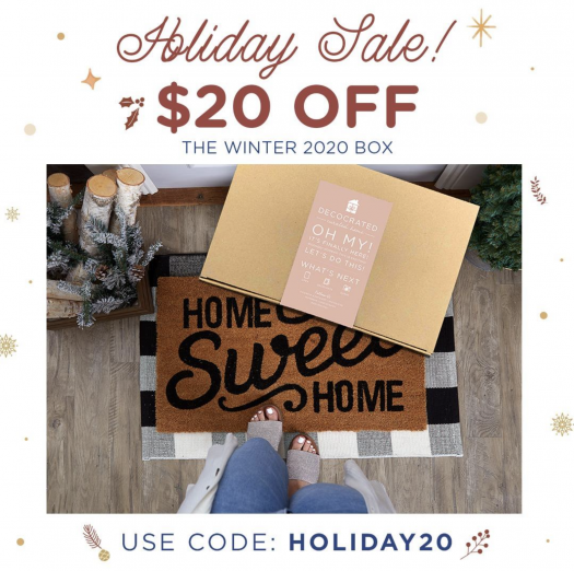 Decocrated Winter Box Sale – Save $20!