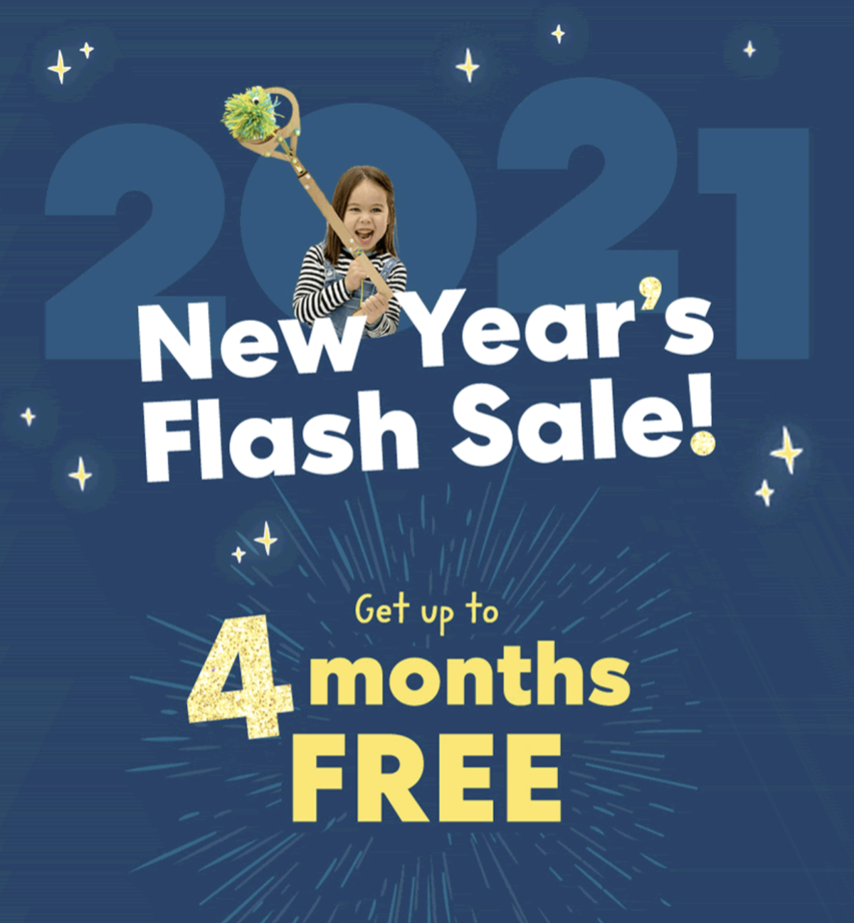 KiwiCo New Year's Sale – Save 50% Off and Up to 4-Months FREE!