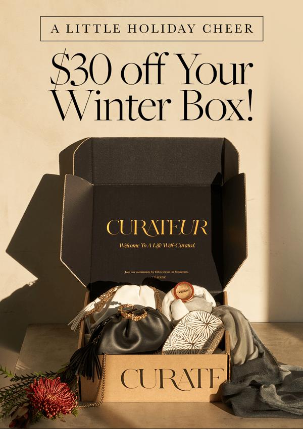 CURATEUR Coupon Code – Save $30!