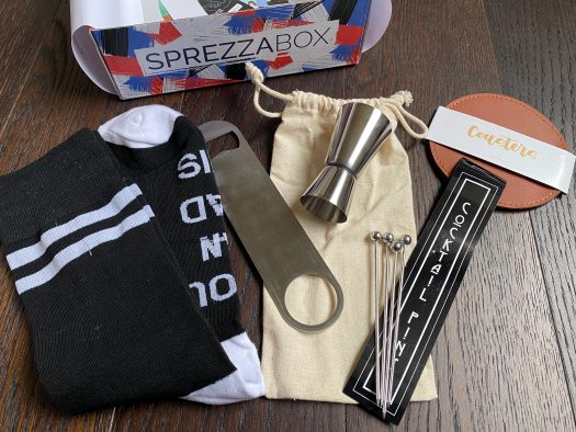 SprezzaBox Review + Coupon Code - January 2021