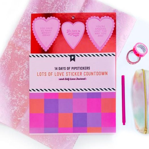 14 Days of Pipsticks Lots of Love Sticker Advent Countdown