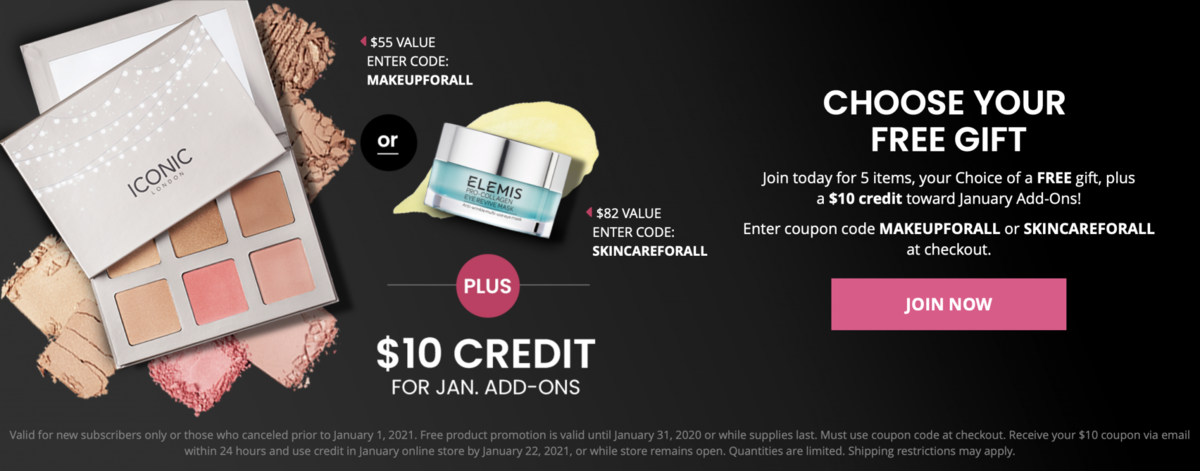 BOXYCHARM January 2021 Coupon Code – Free Gift with Purchase!