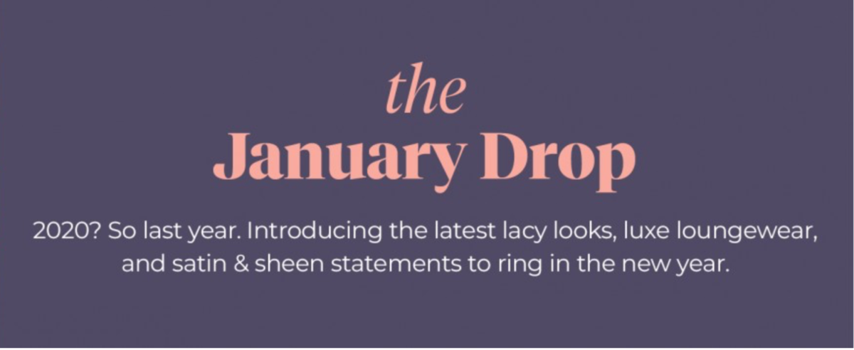 Adore Me January 2021 Selection Window Open + Coupon Code!