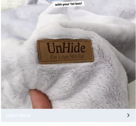 FabFitFun Coupon Code - $10 Off + Free Unhide Blanket