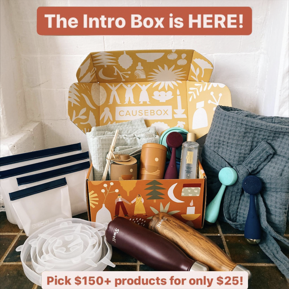 CAUSEBOX $25 Intro Box – On Sale Now + FULL Spoilers!