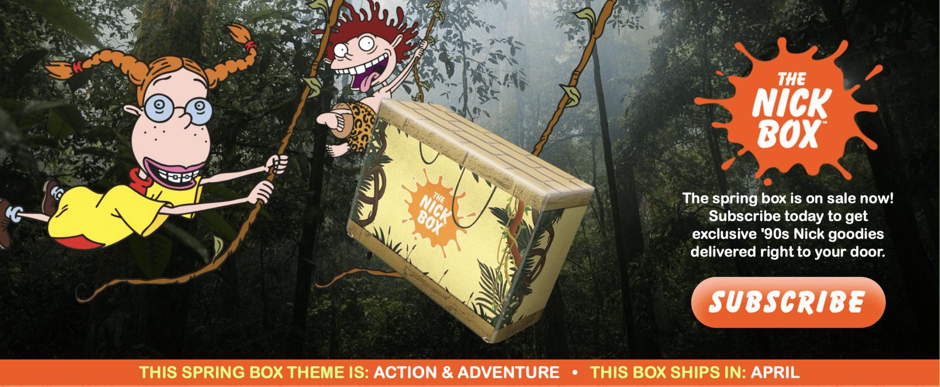 The Nick Box Spring 2021 Box – On Sale Now + Theme Spoiler