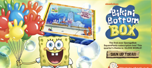 SpongeBob Squarepants Bikini Bottom Box – Spring 2021 On Sale Now