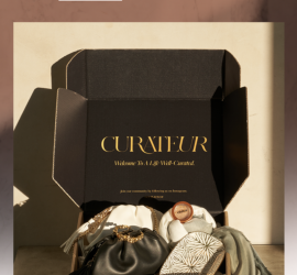 CURATEUR Winter 2020 Box Coupon Code - Save $45