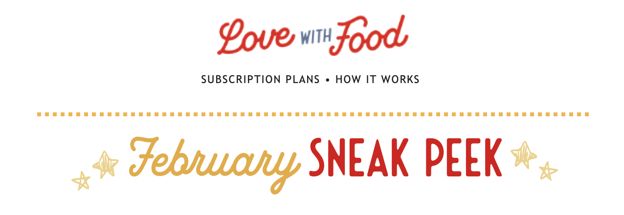 Love With Food February 2021 Spoilers