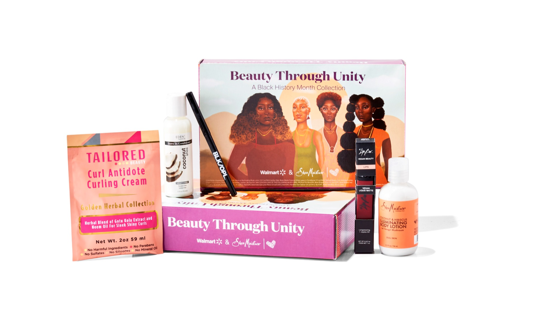 Walmart Beauty Through Unity A Black History Month Collection – On Sale Now + Full Spoilers