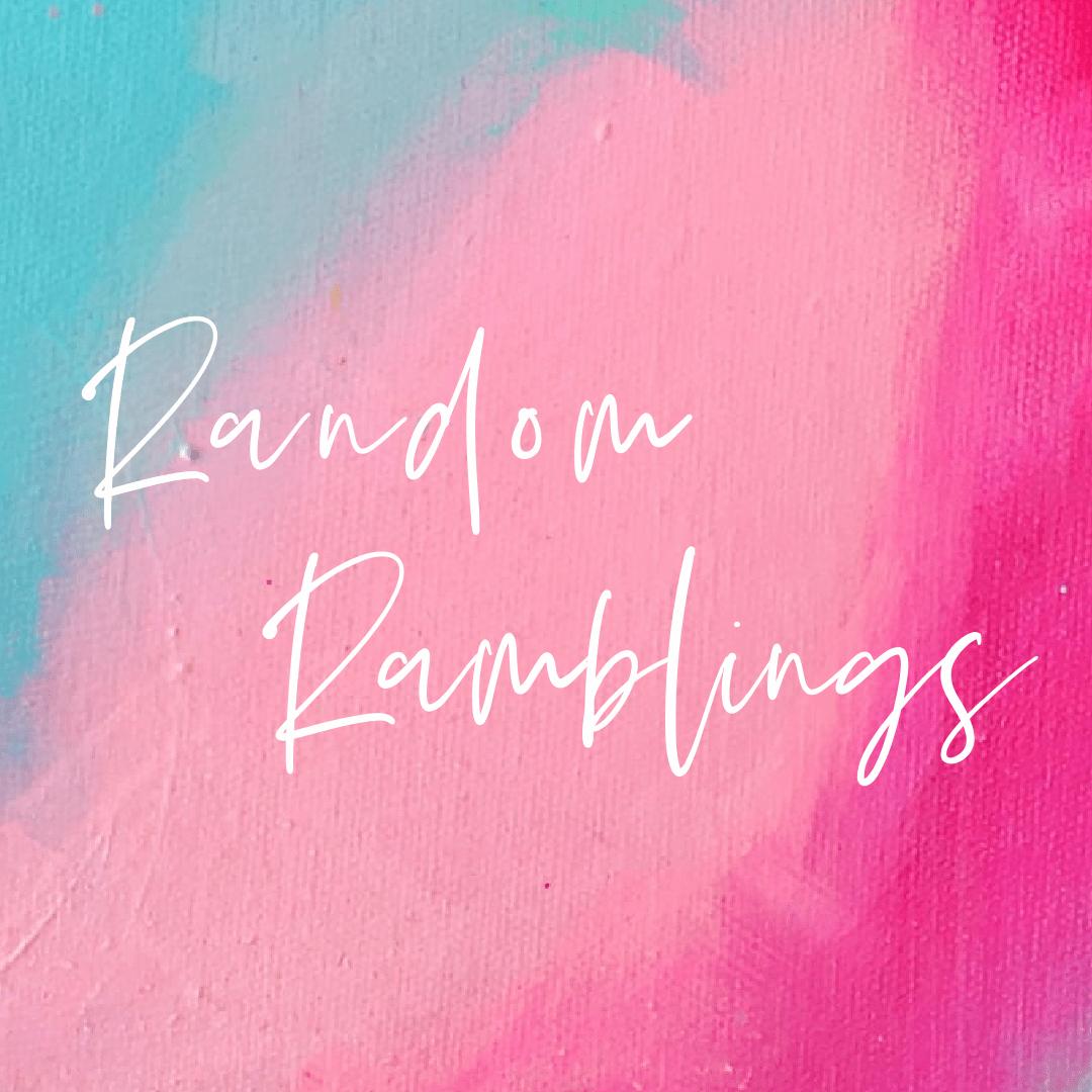 New Year's Ramblings
