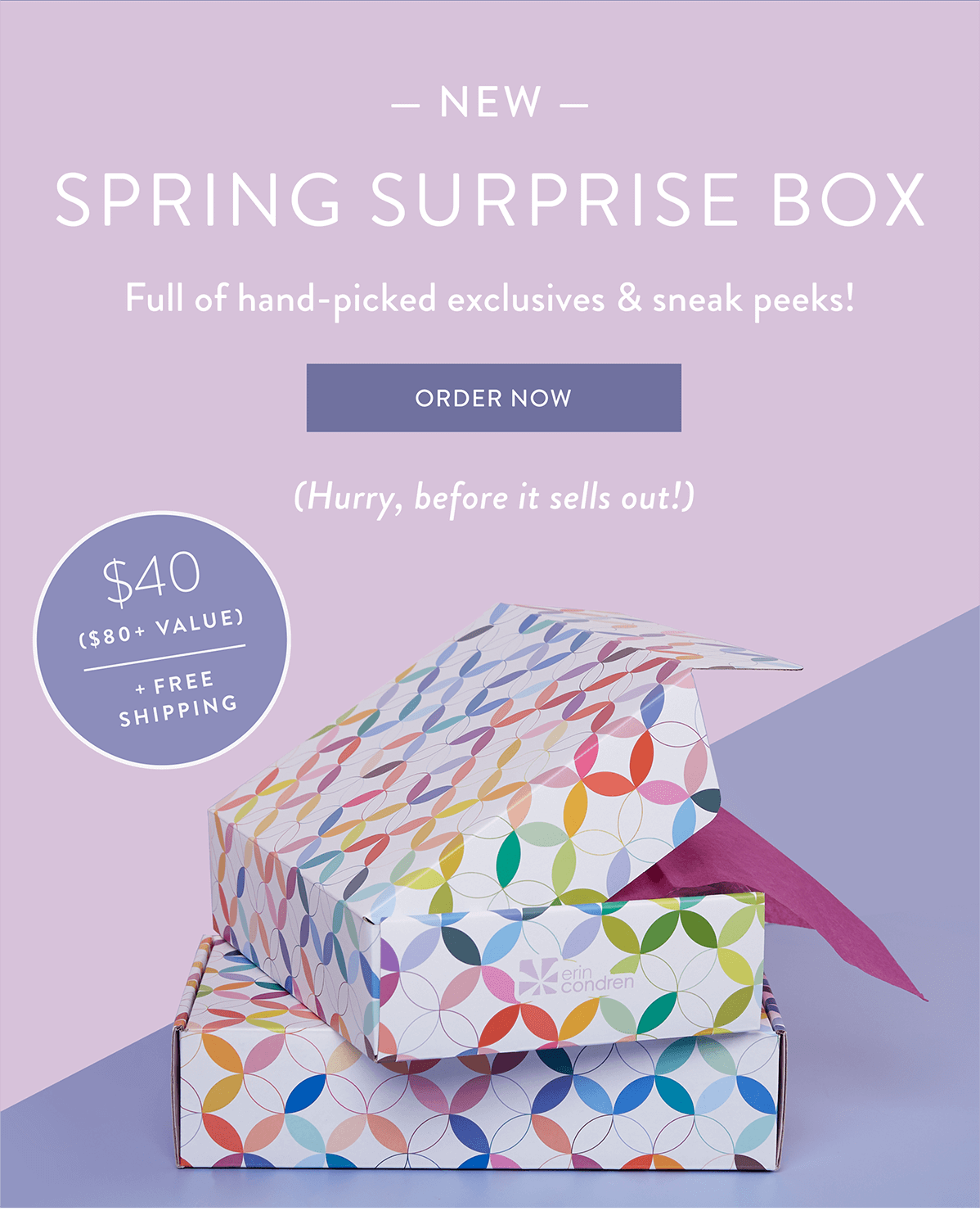 Erin Condren Spring 2021 Seasonal Surprise Box – On Sale Now!