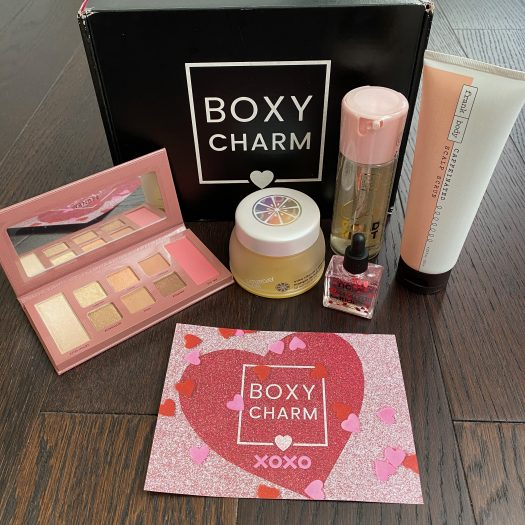 BOXYCHARM Subscription Review – February 2021 + Free Gift Coupon Code
