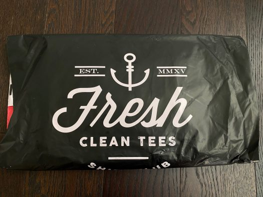 Fresh Clean Tees Shirt Club Review - February 2021