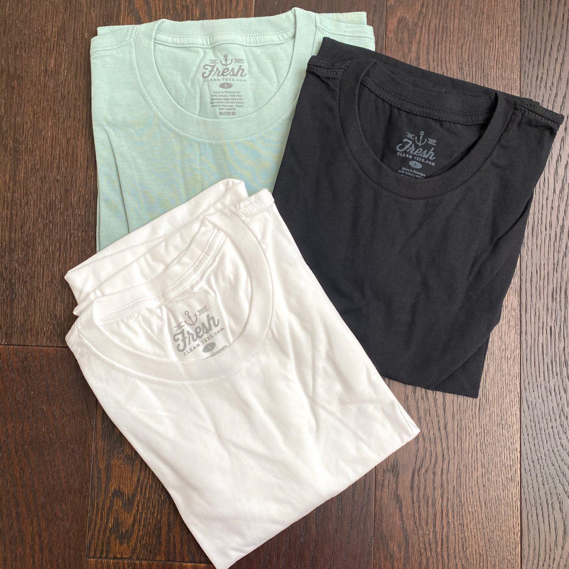 Fresh Clean Tees Shirt Club Review – February 2021
