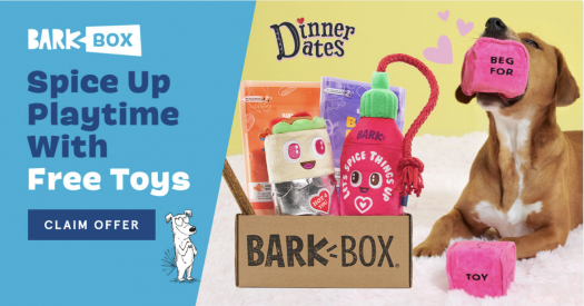 BarkBox Coupon Code – Free FREE Dice Plush Toy!