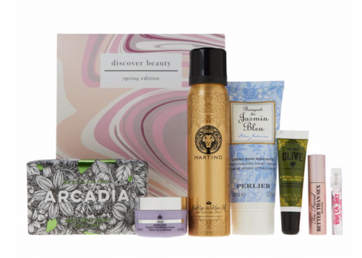 HSN Discover Beauty Spring Sample Box – On Sale Now!
