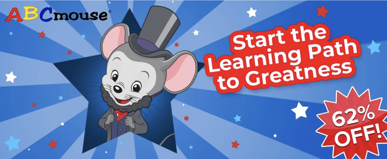 ABC Mouse – Save 62% Off!