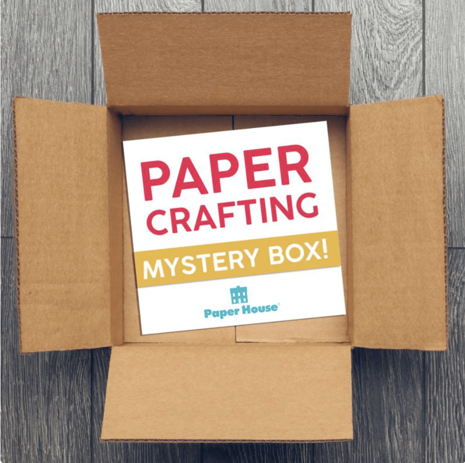 HSN Paper House Papercrafting Mystery Box – On Sale Now!