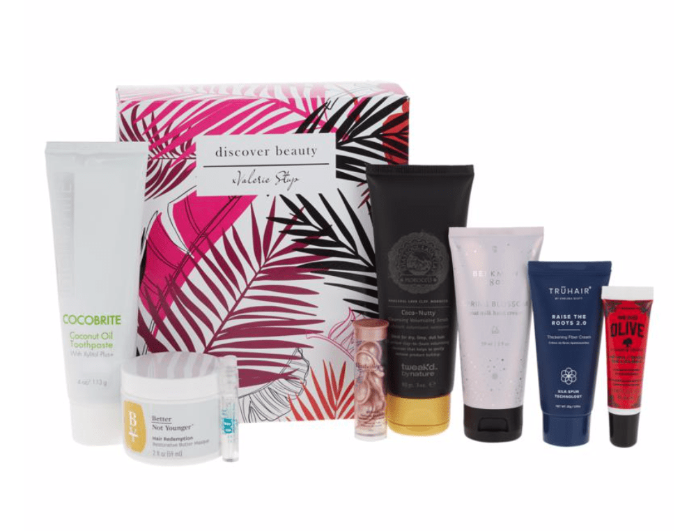 HSN Discover Beauty x Valerie Wake Up Beautiful Sample Box – On Sale Now!