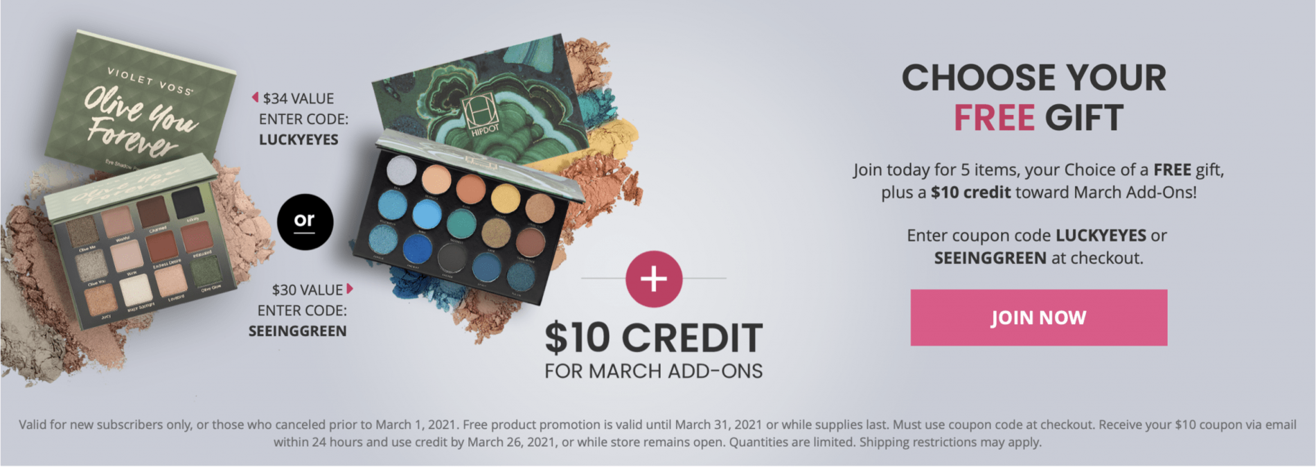 BOXYCHARM March 2021 Coupon Code – Free Gift with Purchase + $10 Pop-Up Credit!