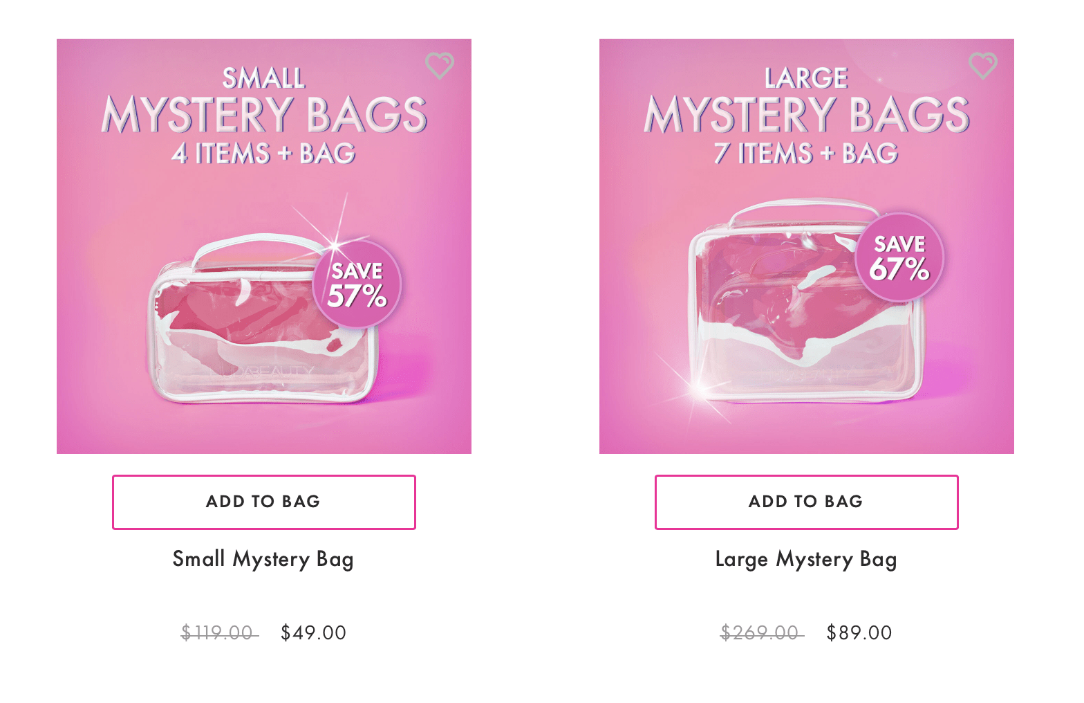 HUDA Beauty Mystery Bags – On Sale Now