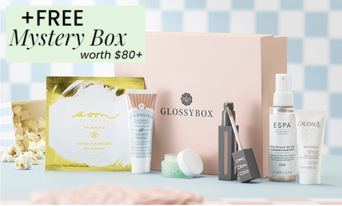 GLOSSYBOX Coupon Code – Free Mystery Box!