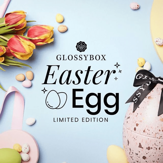 GLOSSYBOX 2021 Limited Edition Easter Egg – On Sale Now