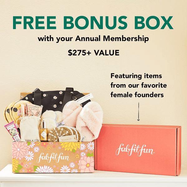 FabFitFun Coupon Code – FREE Bonus Box