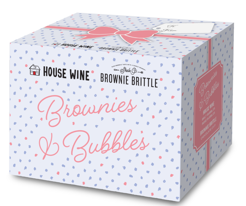 House Wine Mother's Day Box – Brownies & Bubbles
